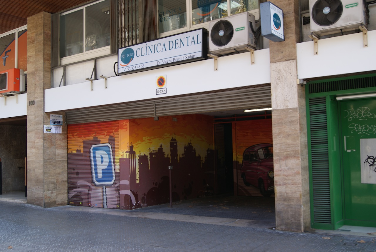Plaza de parking en barcelona c urgell 100 102 plaza for Plaza de parking alquiler